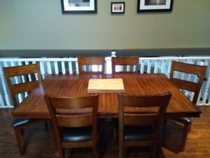 Dining RM table and Buffet for sale....also range hood microwave