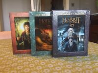 3D Blu Ray Extended Hobbit Movies