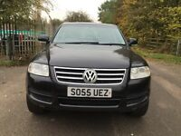 Vw Touareg diesel manual fully loaded