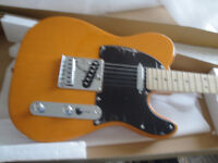 SQUIER TELECASTER ELECT GUITAR+FRONTMAN 15G AMP PACKAGE $350