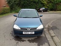Vauxhall Corsa 1.2 full MOT excellent condition.