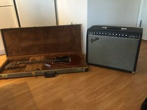 Brand new Godin Empire P90 with Fender Stage 100 amp!