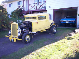 1931 Essex Super Six, 3 Window Coupe. - Reduced.