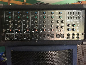 Yorkville MP8 Powered Mixer with 2 channel Amp