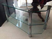 TV plasma glass stand
