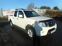 NISSAN NAVARA ACENTA 2.5 EURO V 4X4 MANUAL DOUBLE CAB DIESEL 4 DOOR