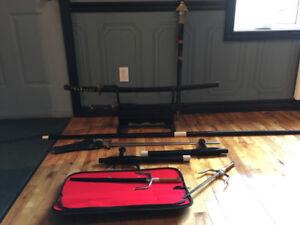 Équipement pour arts martiaux