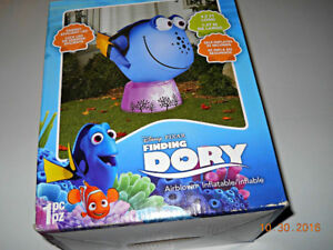 Gemmy Disney Dory Airblown Inflatable 4.5' Wide Light Up NEW