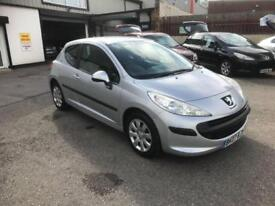 2007/07 Peugeot 207 1.4 16v 90 S 3dr h/b ONLY 48731 Miles SAVE £100 NOW £2495