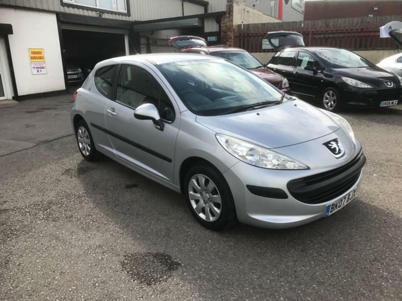 2007/07 Peugeot 207 1.4 16v 90 S 3dr h/b ONLY 48731 Miles £2595