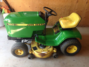 John Deere 160 Riding Mower