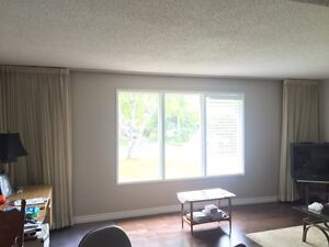 High end drapes, full wall 19ft X 8ft
