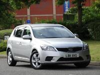 Kia Ceed 1.4 VR-7 2011 ULTRA LOW MILEAGE +KIA WARRANTY UNTIL JULY 2018