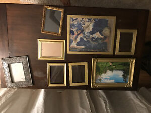 Gold assorted frames: free!