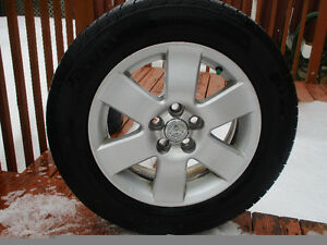 4X TOYOTA COROLLA MAGS +  SUMMER TIRES  195/65/15