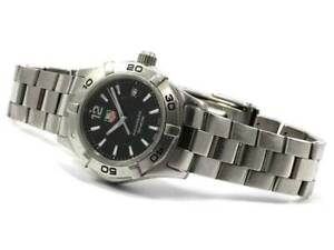 Tag Heuer As Is No Box No Papers Watch Ladies Waf1410 Aquaracer 116125