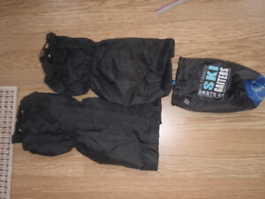 cross country gaiters and downhill ski gear