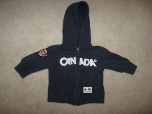 Canada Navy Blue Hooded Sweater