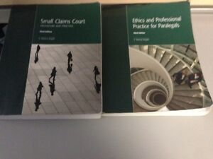 Paralegal Textbooks - First Semester