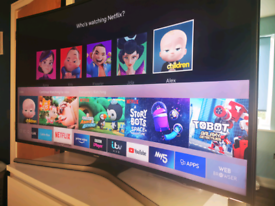 """49"""" Samsung smart curved 4k tv"""