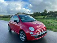2011 Fiat 500 1.2 Lounge 2dr [Start Stop] * ONLY £30 A YEAR TAX * CONVERTIBLE Pe