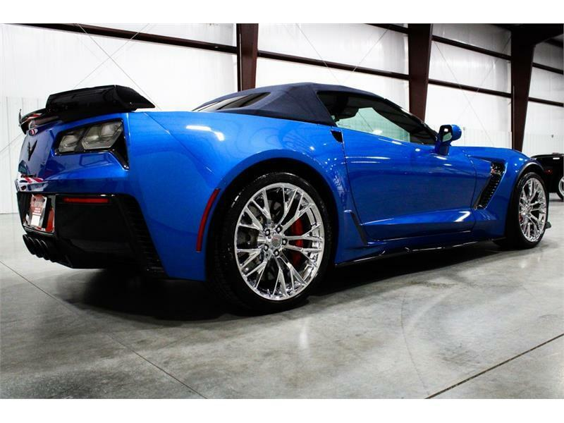 2016 Blue Chevrolet Corvette Z06 3LZ | C7 Corvette Photo 4