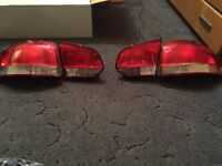 Volkswagen Golf mark 6 rear lights complete or individual available