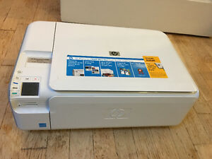 HP C4400 All-in-One Color Printer with Brand new ink