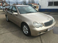 2004 Mercedes-Benz C200 2.1TD DIESEL AUTOMATIC auto SE 93,000 MILES FULL HISTORY