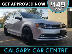 2015 Volkswagen Jetta $149B/W TSI w/Leather, BackUp Cam, Sunroof