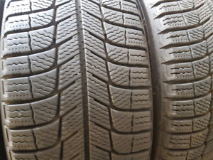 LIKE NEW 215 65 17 MICHELIN WINTER TIRES