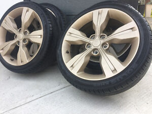 215/40/18 on hyundai Rims