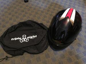 Triple 8 Racer T8 Downhill Longboard Helmet