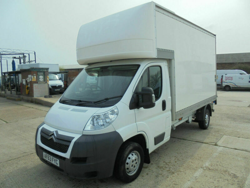 95ad7e4b5c 2013 63 CITROEN RELAY 11FT LUTON BODY WITH SLIMJIM TAIL LIFT 2.2HDi 130 35  L3