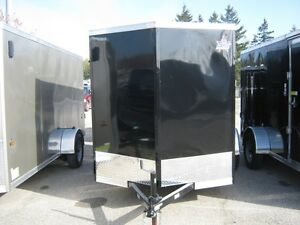 "6 x 10 + 18"" VNOSE ENCLOSED TRAILER / REAR DOORS Oakville / Halton Region Toronto (GTA) image 1"