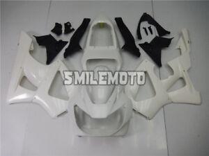 Fairing Fit for HONDA CBR 929RR CBR900RR 2000 2001 Unpainted White Plastic Kit