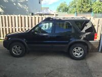 2003 Ford Escape XLT 4x4