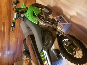 2009 fuel Injection kx 450