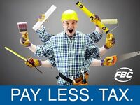 We Work With Trades To Maximize Tax Savings