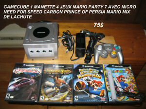 3 X GAME CUBE