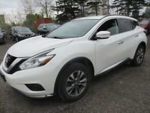 2015 Nissan Murano NAVIGATION-1 OWNER OFF LEASE-HEATED SEATS