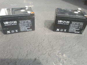 12V Batteries used working 2 for $50