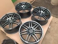 "19"" Audi Le Mans alloy wheels with Dunlop tyres"
