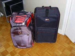 4 grande valises de voyage haute gamme à vendre