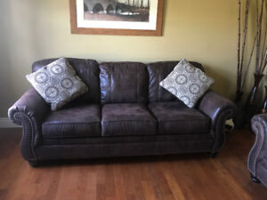 Mint condition Ashley couch and love seat