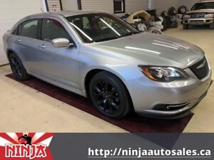 2013 Chrysler 200 S Leather Nav Sunroof And Quick!