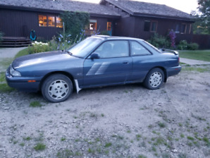 1989 Mazda MX-6 GT Turbo, 4 Wheel Steering, Manual