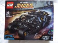Lego Batman The Tumbler 76023 Brand new in unopened box.
