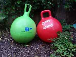 Two brightly colored Hop Balls Kingston Kingston Area image 1