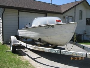 14ft. Mirro craft/ 25hp Johnson for sale